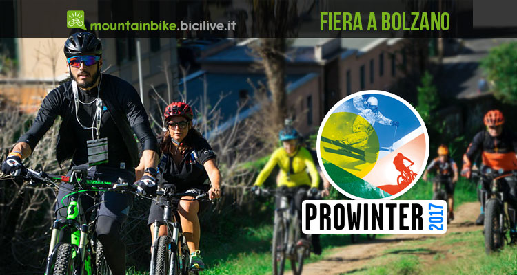 prowinter bike 2017 fiera bolzano