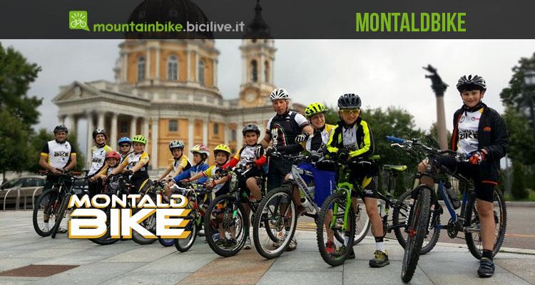 foto di gruppo dell'associazione Montaldbike di Chieri