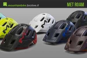 nuovo casco met roam in 7 colorazioni
