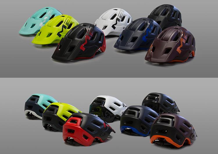colorazioni del casco met roam