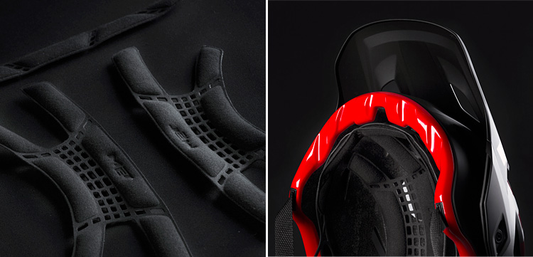 imbottiture e vestibilità del casco met roam