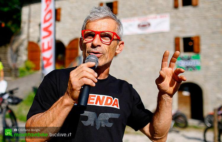 Pippo Marani al Cimone Bike Festival