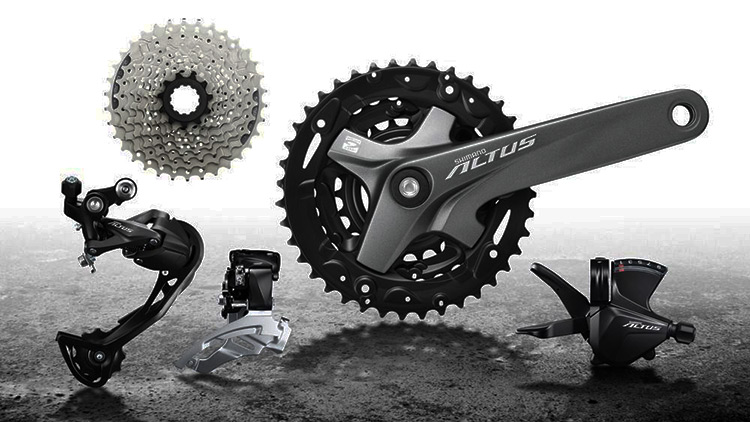 gruppo shimano altus entry level