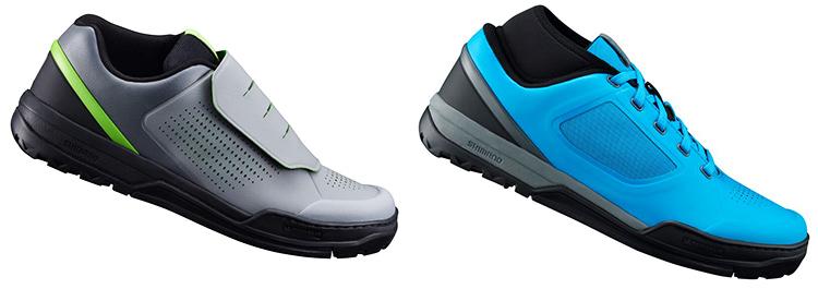 foto delle scarpe per flat Shimano gr9 e gr7