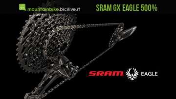 gruppo gx eagle monocorona 1x12 range 500