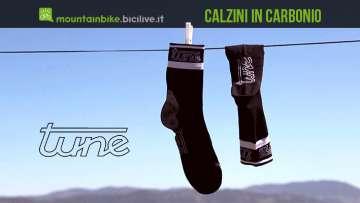 calzini in carbonio tune