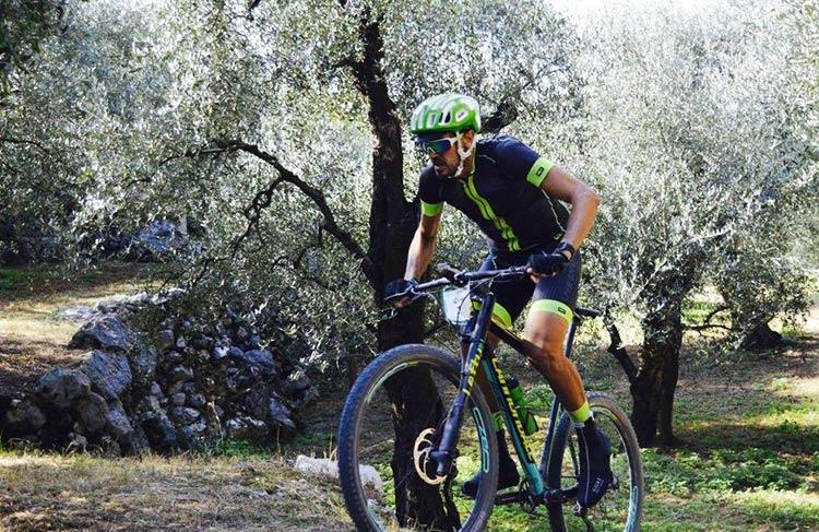 foto di Carlo Argentieri, esperto biker di lunghe distanze