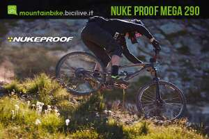 biker enduro con nukeproof mega 290