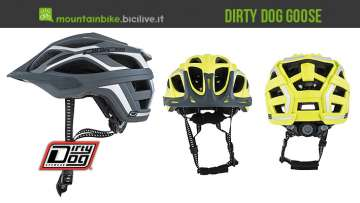 casco da mtb dirty dog goose
