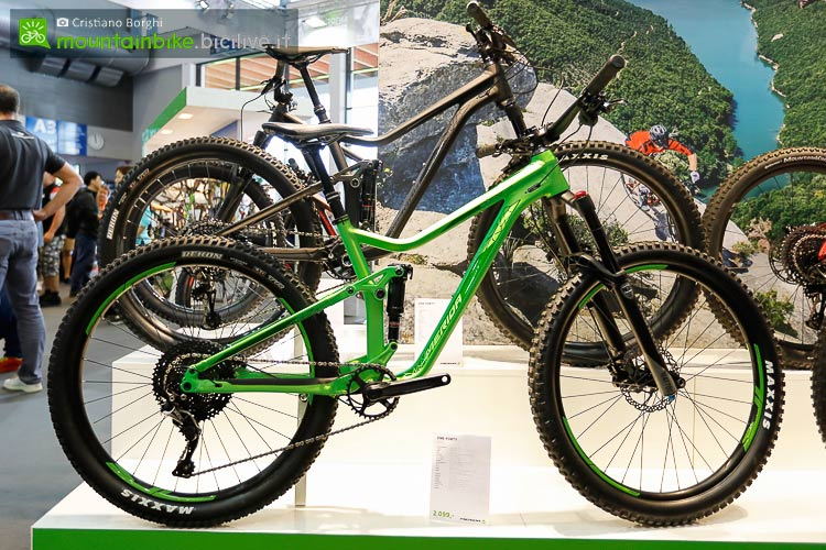 foto della trail bike merida one forty