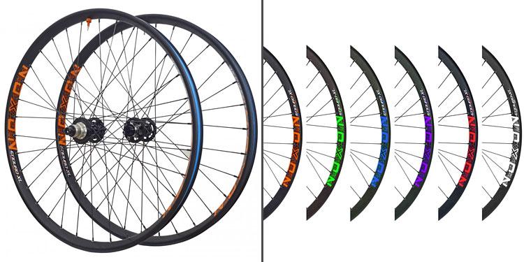 cerchi noxon enduro XL in 6 colori