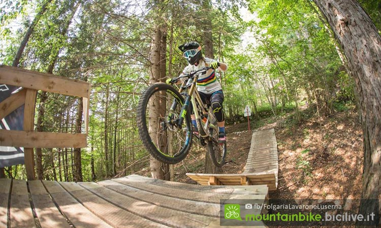 missaggia al bike park ladies a lavarone