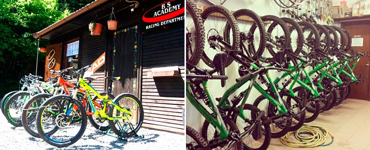 bs academy di montecreto e bike center cimone a sestola