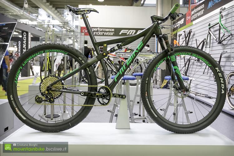 foto della fm bike storm, xc race biammortizzata