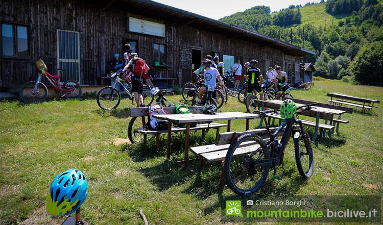 riposo e relax al cimone bike park