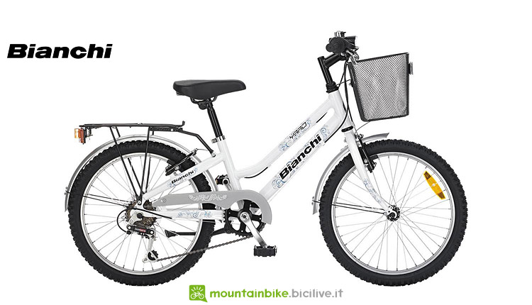 mountain bike da bambina bianchi yard