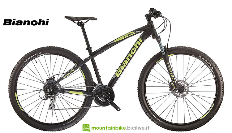 mtb front entry level bianchi duel 27