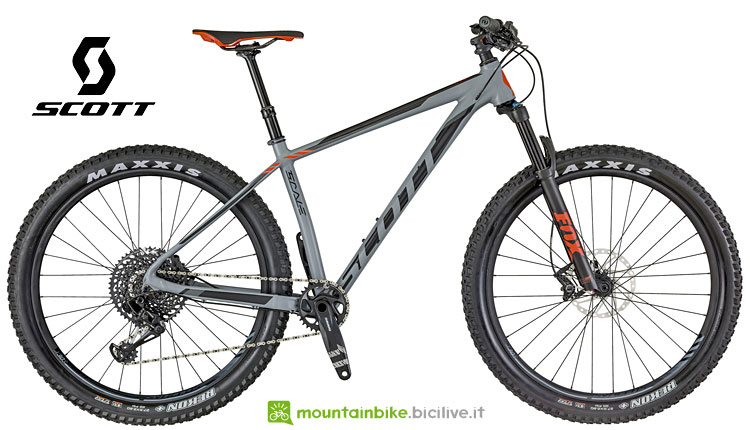 scott scale hardtail con ruote da 27,5
