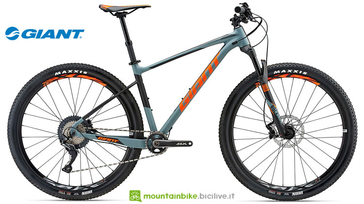 mtb hardtail mozzi boost dal catalogo giant 2018