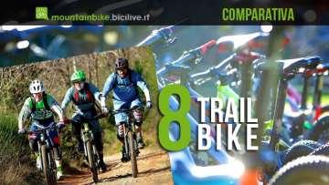 Comparativa di 8 Trail Bike del 2014