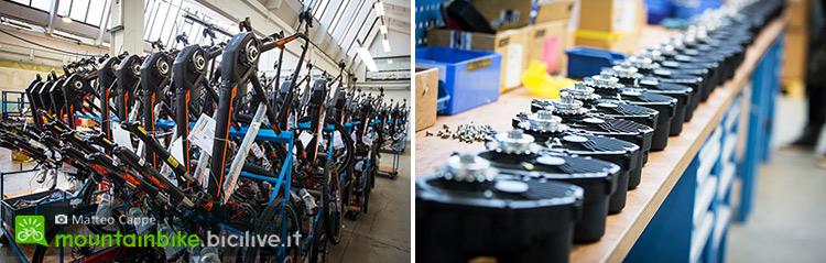 foto di motori elettrici per ebike Bosch