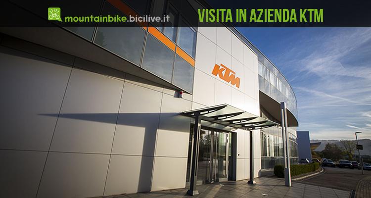foto dell'ingresso della ditta ktm bicycle industry
