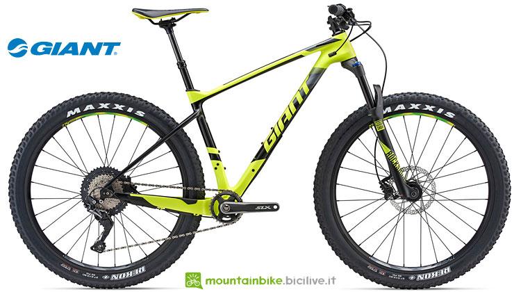 mtb da xc con ruote plus giant XTC