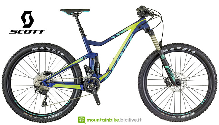Mtb full da donna Scott Genius 730