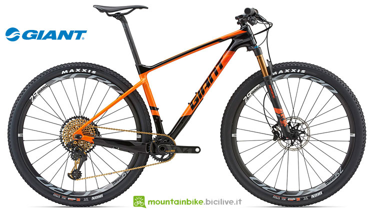 Giant XTC Advance 29er 0 con Sram XX1 Eagle 1x12