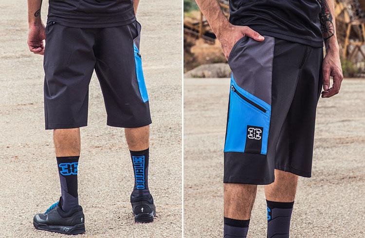 pantaloni e calze da mountain bike double3