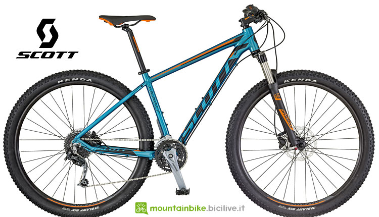 modelli entry level scott aspect 2018
