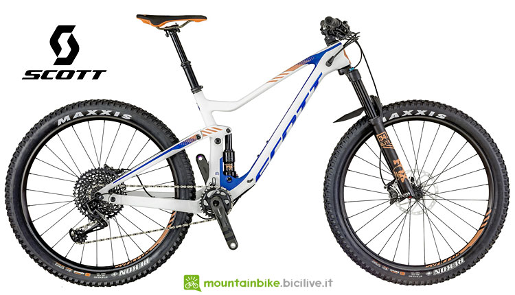 Mtb da trail da donna Scott Genius 710