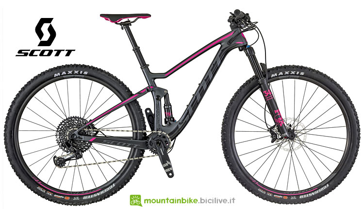 Scott Contessa Spark 910 con forcella FOX