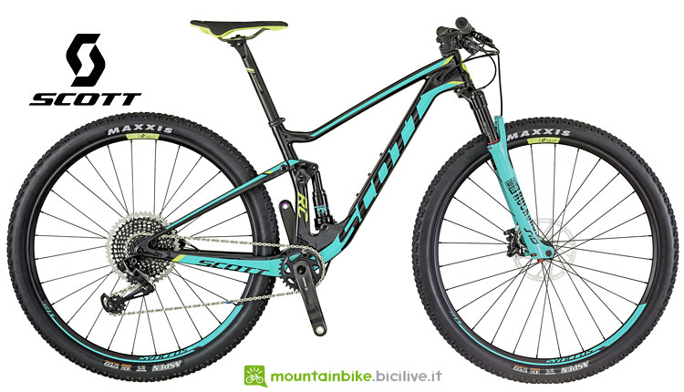 contessa spark rc 900 mtb full in carbonio da donna