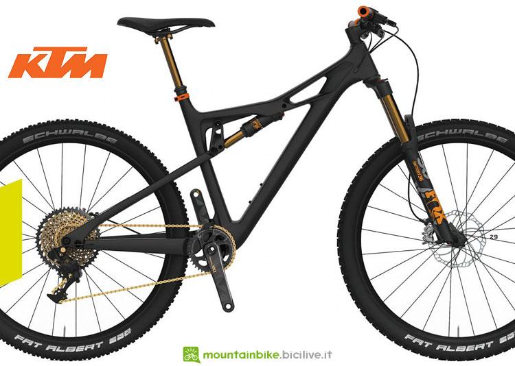 mtb full carbon ktm prowler 2018