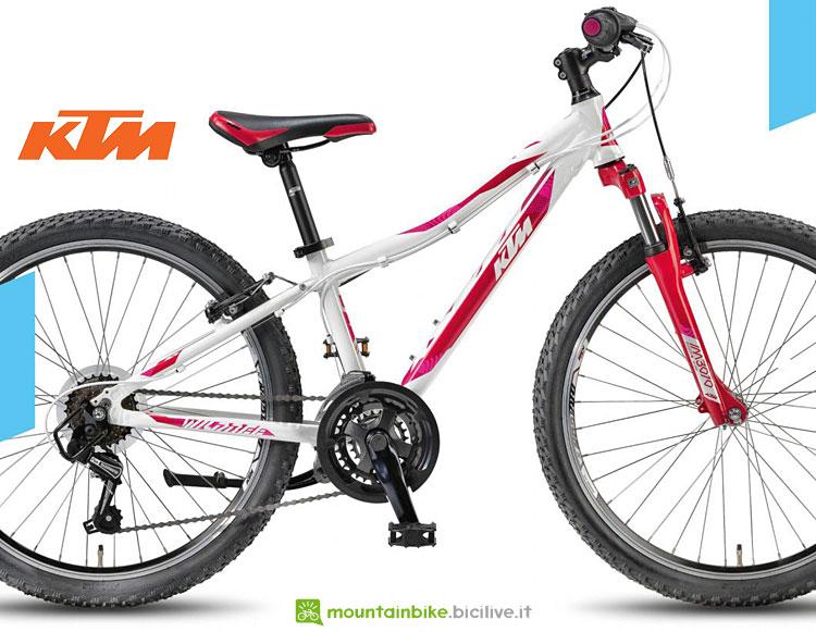 bicicletta da bambino e bambina ktm