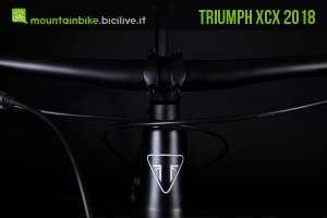 mtb hardtail triumph xcx 2018