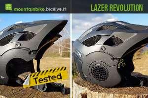 foto del casco mtb lazer revolution