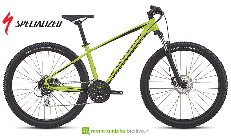 mtb front entry level specialized 2018