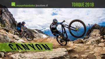 Canyon Torque 2018, gravity mtb bike
