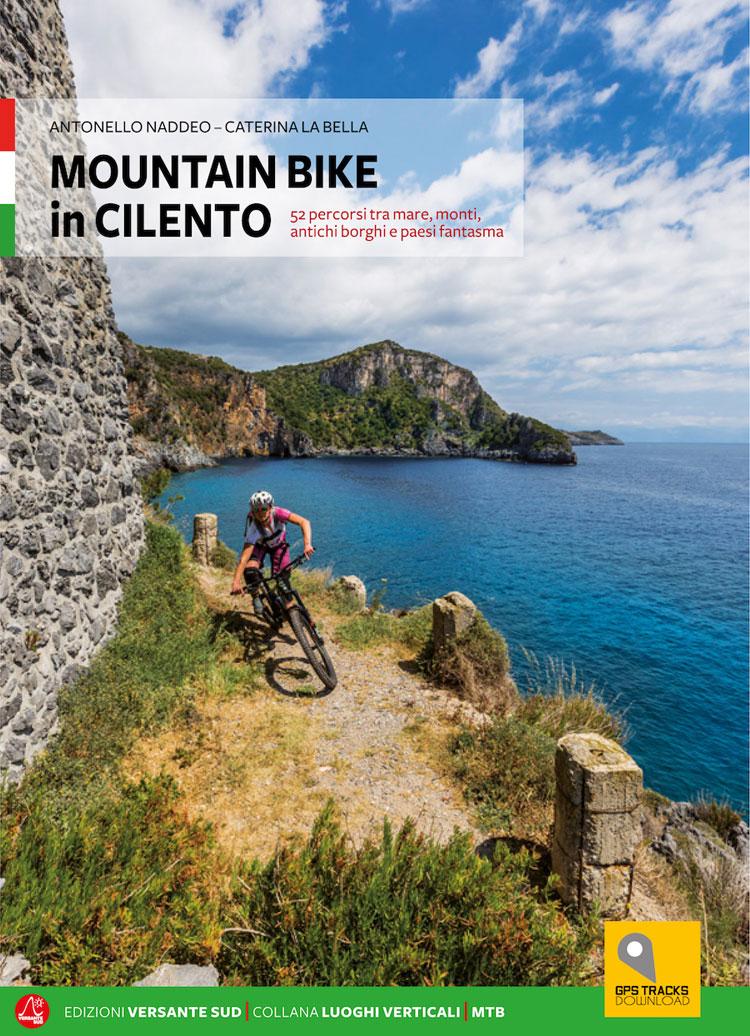 La copertina della guida Mountain Bike in Cilento