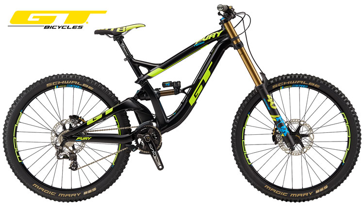 Una mtb da downhill GT Fury Team 2018