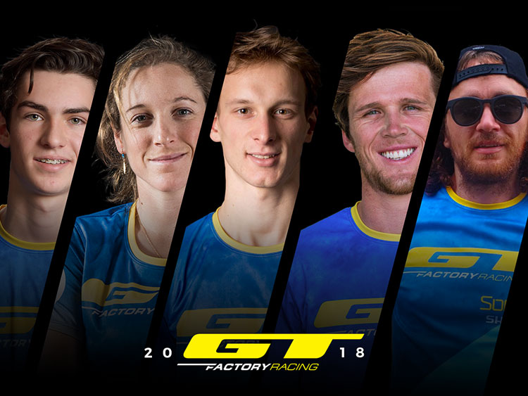 Il team GT Factory Racing 2018 al completo
