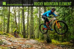 due rider xc in sella alla rocky mountain element