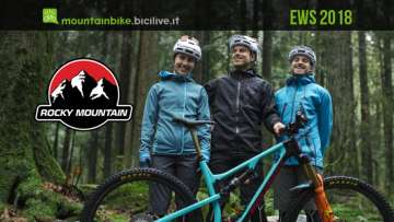 Rocky Mountain Race Face Enduro Team 2018 per l'EWS
