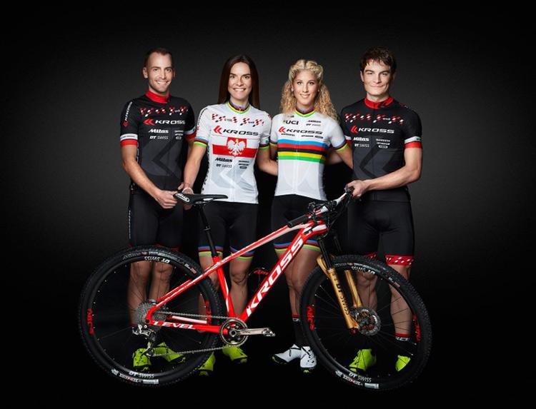 foto del team Kross racing mtb