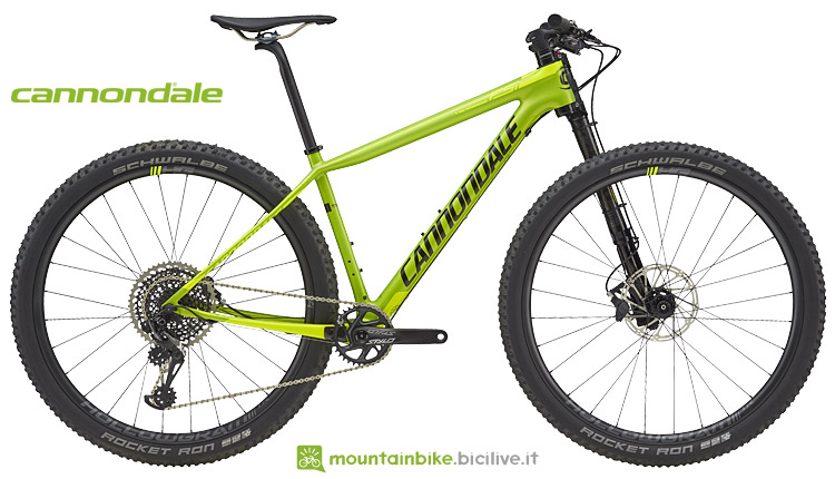 cannondale hardtail xc f-si