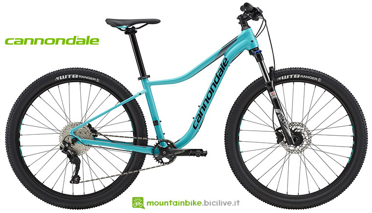 mtb cannondale entry level da donna