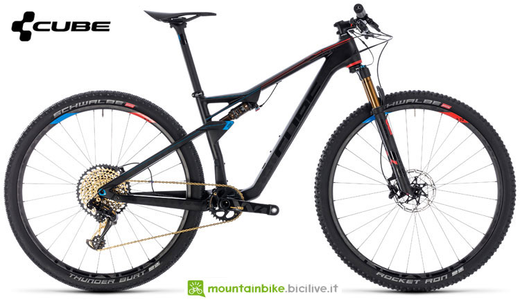 Una mountain bike Cube AMS 100 C:68 SLT 29