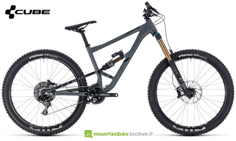 Una mountain bike Cube Hanzz 190 TM 27.5